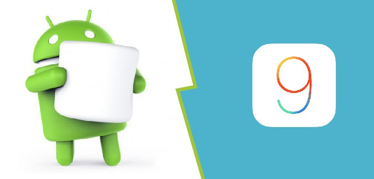 android marshmallow vs iOS9