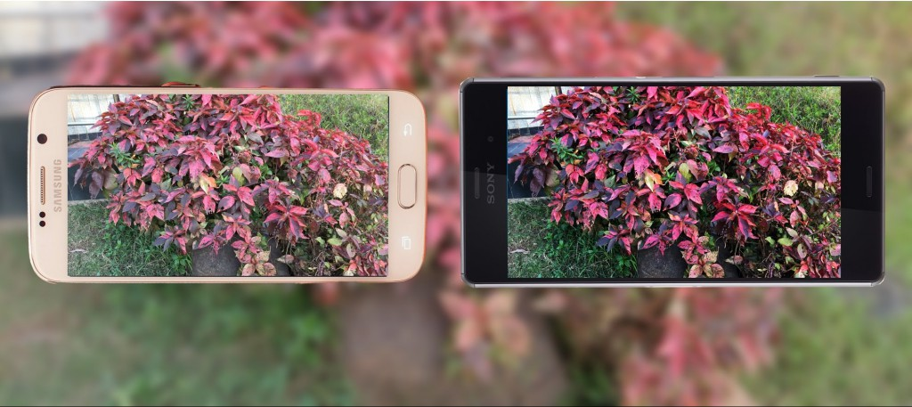 Camera Samsung Galaxy S6 Vs Sony Xperia Z3 Plus